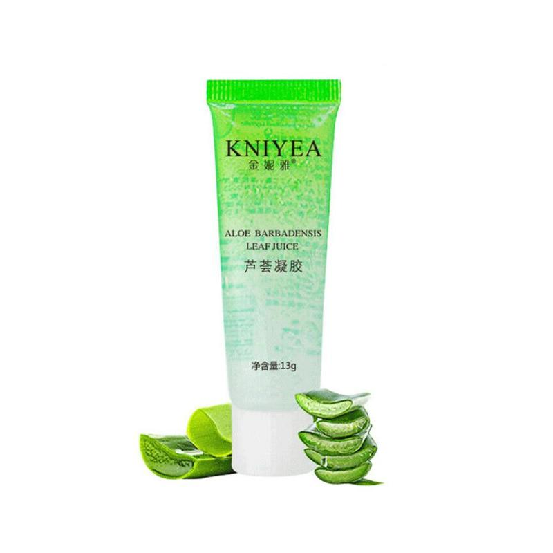 Pure Aloe Vera Gel Hyaluronic Acid Plants Base Primer Repair Gel Sunburn Moisturizing Skin Care Face Cream Makeup Cosmetic 13ml