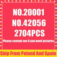 Ship From Spain Technic 20001 20001B Racer Super Racing Car Technical 2758Pcs Building Blocks Toys Gift Compatible with 42056