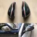 100% реальные углеродного волокна защитные колпачки для зеркала заднего вида подходят для Alfa Romeo Giulia 952 Stelvio 949 2016-2019 стайлинга автомобилей