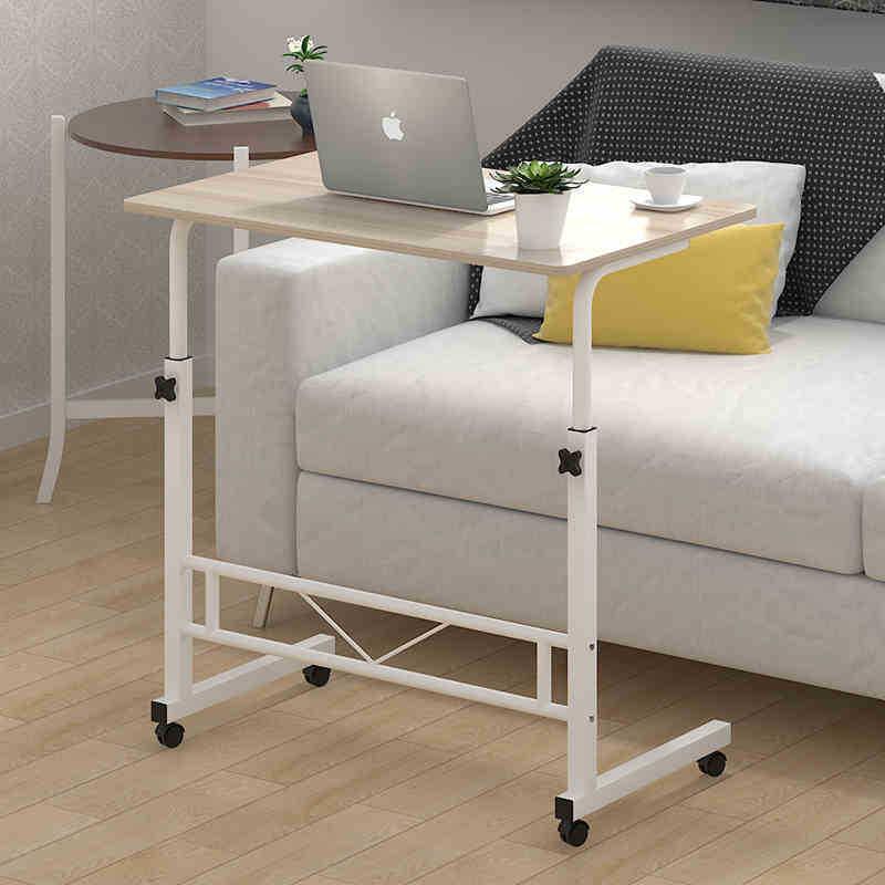 Modern Simple Laptop Table Household Movable Bedside Table And Desk Computer Desk Organizer Desk Organizer Standing Desk