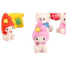 Super Kawaii Girl Style School Eraser Lovely Stationery Eraser Correction Tools for Supermarket Kids Stationery