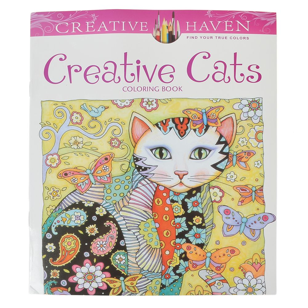 Creative Haven Creative Cats Colouring Book For Adults Antistress Coloring Book Secret Garden Serie Gift For Kid Creative