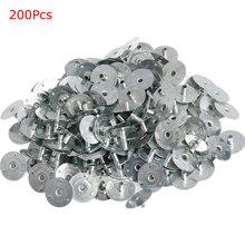 100 200Pcs świeca knot Metal Sustainer Wick Tabs srebrny do odlewania świec prezent 12 5*2 5mm tanie tanio CN (pochodzenie)