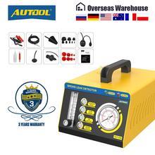 AUTOOL SDT208 dymu samochodu wykrywacz nieszczelności System ewakuacji Tester dla Turbochanged z wyciągiem próżniowym układ chłodzenia wycieków rurociągów Tester