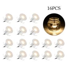 16 шт. встраиваемый подземный светильник светодиодный палубный светильник Открытый IP67 Водонепроницаемый ландшафтный светильник для сада пол украшение дома