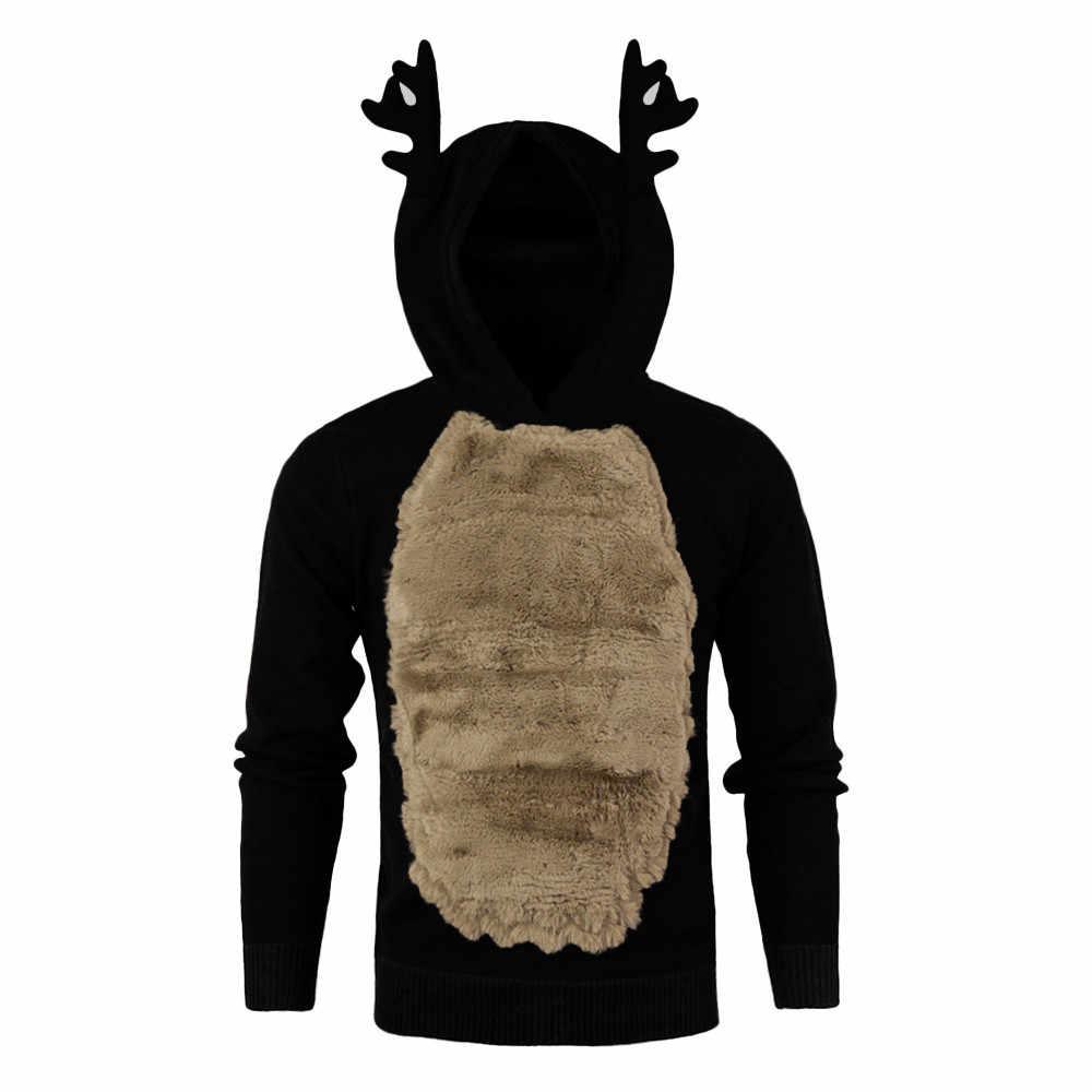 Trui Kerst Belangrijkste Product Mannen Elanden Cosplay Truien Koele Jongen Moeite Waard Sweter Hot Selling Fashion Style Kerst Trui
