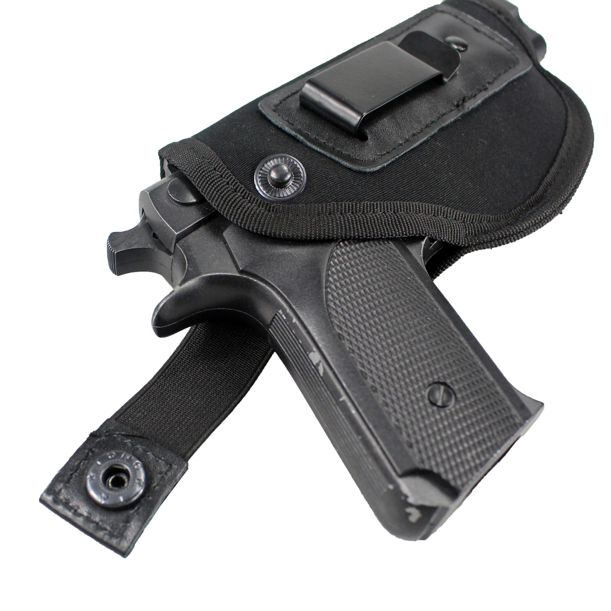 Image 4 - Tactical Concealed Carry Universal Neoprene IWB Holster with Extra Mag Holster for Right Hand-in Holsters from Sports & Entertainment
