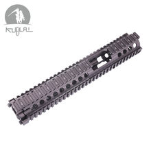 "New Arrival Hard Coat Anodized MK18 DD FSP RISII 12"" Airsoft handguard CB Tactical Rail for AEG Gel Blaster(China)"