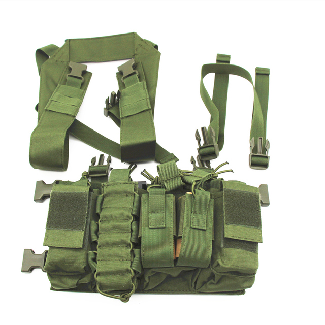 Military equipment tactical Vest Airsoft Paintball Carrier Strike chaleco chest rig Pack Pouch Light Weight Heavy Duty vest 6