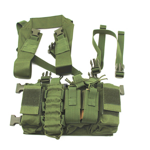 Image 5 - Military equipment tactical Vest Airsoft Paintball Carrier Strike chaleco chest rig Pack Pouch Light Weight Heavy Duty vest