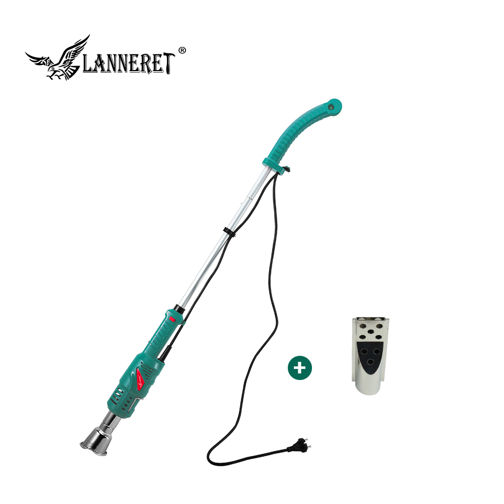 2000W Thermal Weeder Weed Burner Electric Thermal Weeder Hot Air Weed Killer Grass Flame of Garden Tool