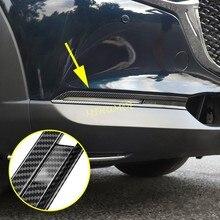 סיבי פחמן רכב קדמי ערפל אור כיסוי מנורות Trims למאזדה CX30 CX 30 DM 2020 2021