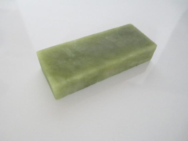 10000# Grit 50*20*10mm Green Gem Knife Razor Blades Sharpener Sharperning Tool Super Fine  Whetstone Oilstone Block Polishing