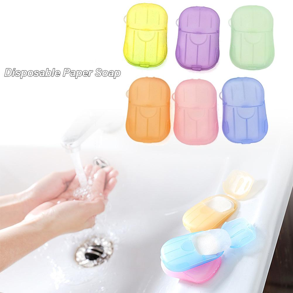 Private Link Portable Disposable Soap Paper Cleaning Soap Paper For Kitchen Toilet Outdoor Travel