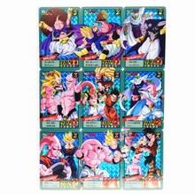 9pcs/set Majin Buu Dragon Z Heroes Battle Card Ultra Instinct Game Collection Cards