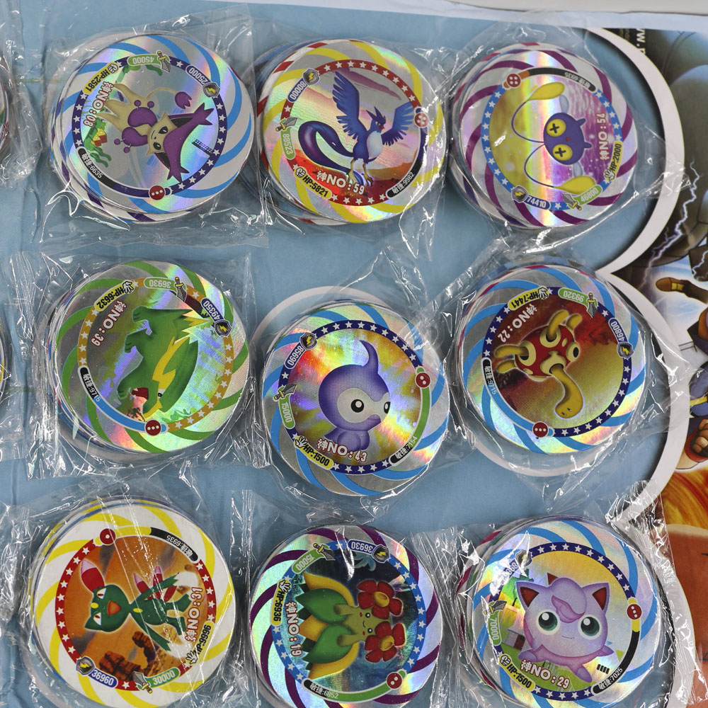 12pcs/set Shining Pokemon Cards For Children Toy Collections Dragon Ball Z Cards Ultman Kaiju Goku Bling Bling Flash Card