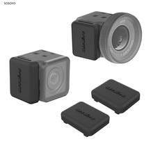 2Pcs 액션 카메라 먼지 플러그 실리콘 보호기 케이스 커버 Insta360 하나 R4K 스포츠 카메라 액세서리에 대 한 실리콘 플러그 주택