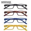 Женские маленькие квадратные очки для чтения, ультралегкие небьющиеся очки для мужчин, высококачественные пресбиопические очки в ретро ст...