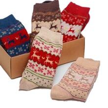 New Autumn Winter Women Socks Hot Sale Warm Print Animal Rabbit Woolen