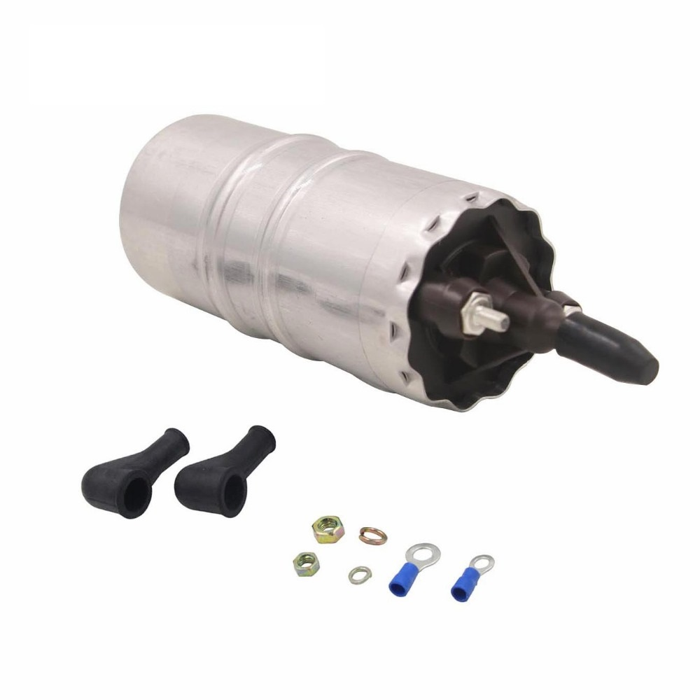 12V Electric Fuel Pump For <font><b>BMW</b></font> K+Ducati K75 <font><b>K100</b></font> K1100 K1 83-97 Ducati 907 851 888 16121461576 16121460452 0580463999 52mm image