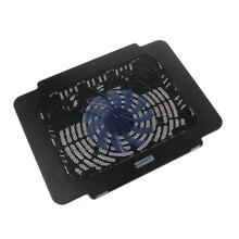 цена на Laptop Cooler Cooling Pad Base Big Fan USB Stand For 14 Inch LED Light Notebook LX9A