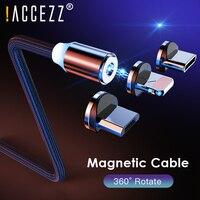 !! Cavo USB magnetico уzz 2m ricarica rapida Micro USB tipo C per iPhone 11 Pro Max X XR cavo caricabatterie magnete per telefono cellulare Samsung