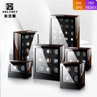 Nova versão assista winder para relógios automáticos de madeira caixa de acessórios relógios de armazenamento