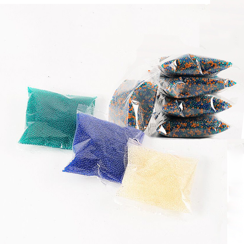 13000pcs/bag Crystal Soil Hydrogel Gel Polymer Water Beads Gun Bullets Flower/Decoration Polymer Growing Water Balls Home Decor