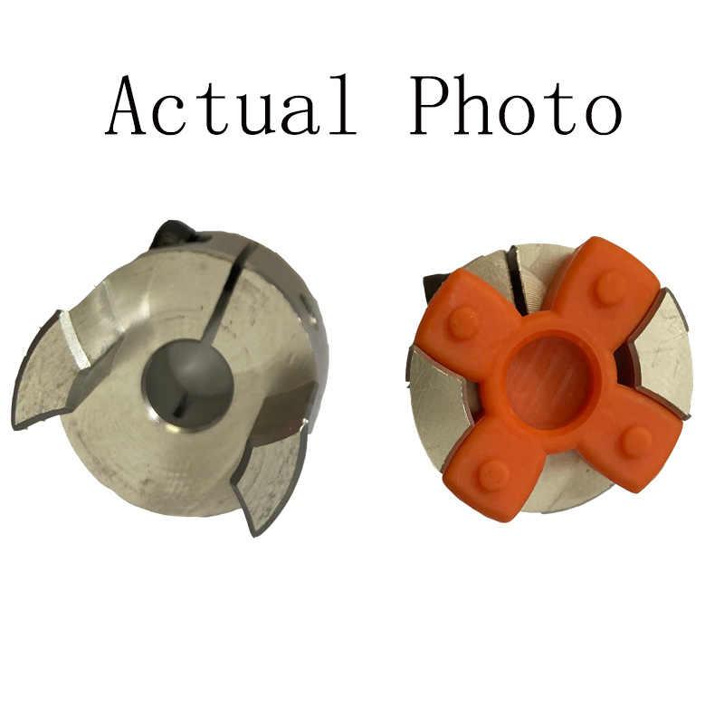 1PCS Universal Joint Flexible Plum Coupling Nuts Rotatable Motor Connector Multiple Models Spider Shaft Coupler for CNC Stepper MotorOD30mm x L40mm
