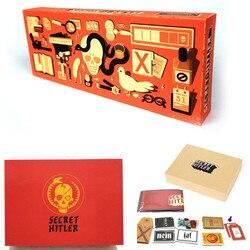 2019 Jogos de Cartão Escondido Secreto Hitler Papéis UMA Dedução de Jogar Jogo de Tabuleiro Social com Os Amigos e Familiares HTL