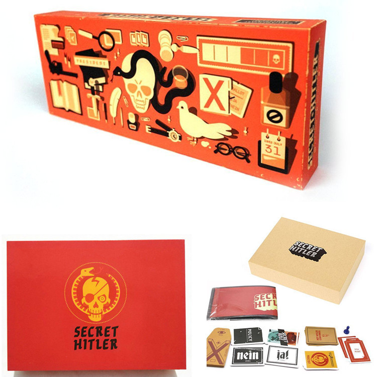 2019 Secret Hitler Card Games Hidden Roles A Social Deduction Board Game Play With Friends And Family HTL