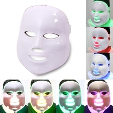 Surebeauty Led маска для лица 7 цветов светодиодный корейский Фотон терапия для лица устройство для приготовления маски для фототерапии против морщин, уход за кожей, акне светодиодная маска