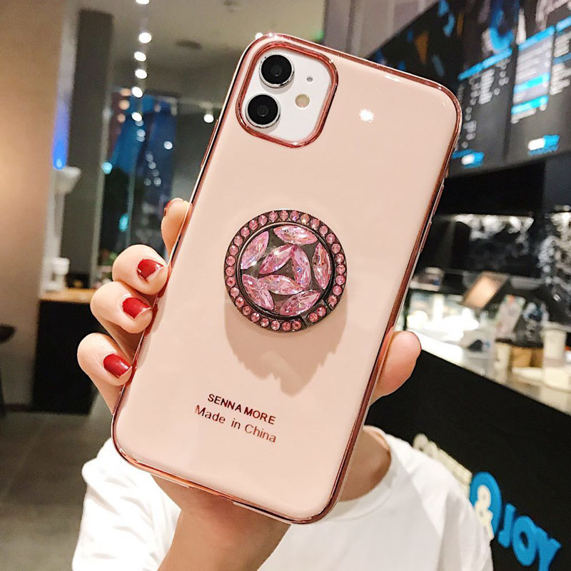 Diamonds Finger Ring Case For Samsung Galaxy S20 Ultra S9 S10 Note 8 9 10 Plus A71 A70 A51 A50 Phone Holder Case