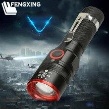 8000 lúmen Lanterna Recarregável USB 3 XM-T6 Levou Tocha Zoomable Modos de Flash Iluminação À Prova D' Água Camping Uso Da Lâmpada 18650 Bateria