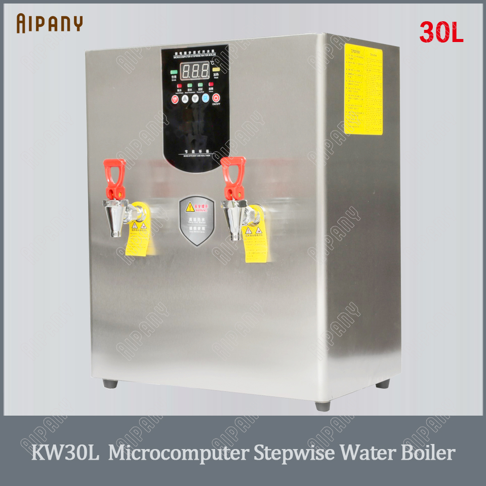 KW30L/KW40L/KW60L Commercial Electric Stepwise Hot Water Boiler 30L 40L 60L Big Capacity Stainless Steel Water Boiling Machine