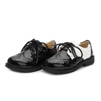 Nowe 2020 świąteczne buty dla chłopców czarne skórzane buty modne buty dla dzieci Halloween Girls Princess Shoes Party Shoes rozmiar 27-43 tanie i dobre opinie KEAIYOUHUO RUBBER W wieku 0-6m 7-12m 13-24m 25-36m 3-6y 7-12y Cztery pory roku Mężczyzna Pasuje prawda na wymiar weź swój normalny rozmiar