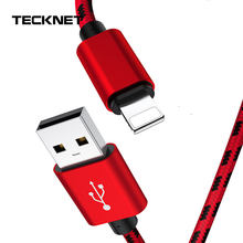 TeckNet Charger Cable Micro Usb Cable For iphone 11 USB Type C Fast Charging Adapter Charger Wire For Samsung Huawei Xiaomi Cord(China)