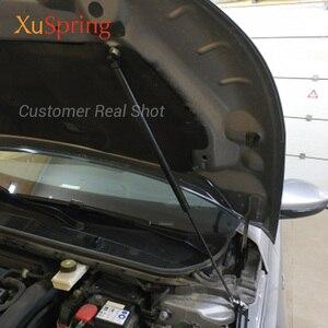 Image 2 - For Peugeot 308 T9 2013 2019 Car Bonnet Hood Support Hydraulic Rod Strut Bars Lift Spring Shock Bracket Car styling