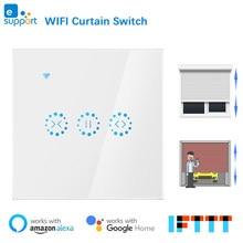 eWeLink WiFi Vorhang Blind Schalter für Rollladen Elektromotor Google Home Alexa Echo Stimme Control DIY Smart Home EU/UNS