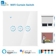 eWeLink WiFi Curtain Blind Switch for Roller Shutter Electric Motor Google Home Alexa Echo Voice Control DIY Smart Home EU/US