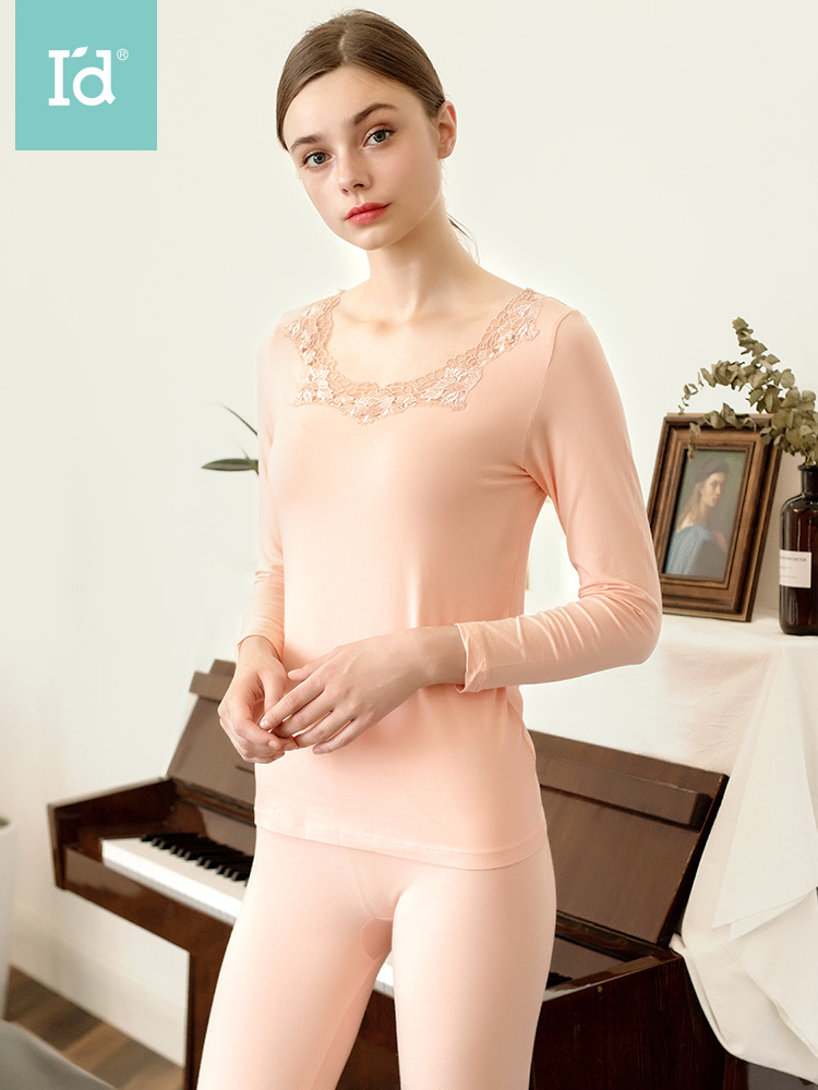 Sexy Warm Thermal Underwear Thin Comfortable Breathable Modal Seamless Long Johns Breathable Ladies Slim Underwears Sets