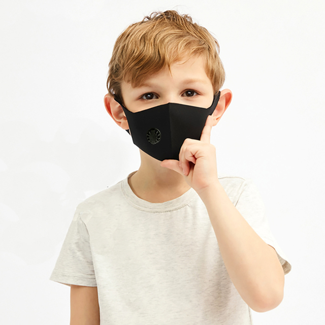 Kids Mouth Face Mask Breathable Mask Respirator Washable Reusable 1