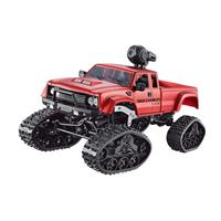 None WiFi 2.4G Remote Control Car 1:16 Military Truck Off Road Climbing Auto Toy Car Controller Toys