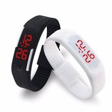 Korean Lovers Men Women Watches LED Digital Watch