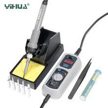 Паяльная станция yihua 908d паяльная с цифровым дисплеем и регулируемой