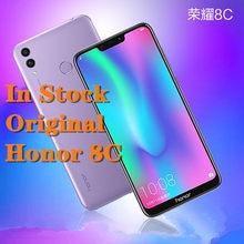 Novo original honra 8c smartphone 6.26