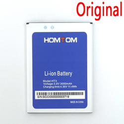 100% Original Battery For Homtom HT3 HT7 HT16 HT17 HT20 HT37 Pro Phone Latest Production High Quality Battery+Tracking Number