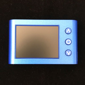 Image 1 - 1 pcs x MLX90640 אינפרא אדום תרמית Imager עם Rechargeble ליתיום סוללה גרסה 2.4 אינץ LED ומצלמה גרסה אפשרות