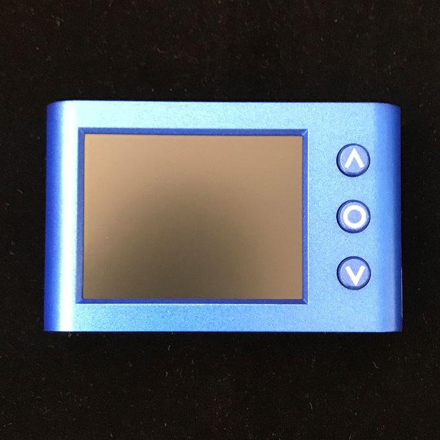 1 pcs x MLX90640 적외선 열 화상 카메라 Rechargeble 리튬 배터리 버전 2.4 인치 LED 및 카메라 버전 옵션