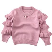 Новинка 2021 осенние свитера для малышей Зимний вязаный детский